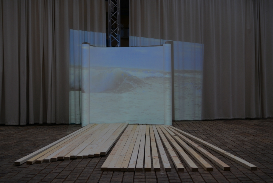 Backdrop (Biarritz) - Installation model #1